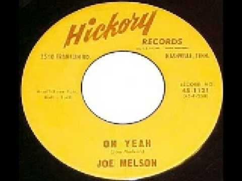 ▶ Joe Melson - Oh Yeah - YouTube