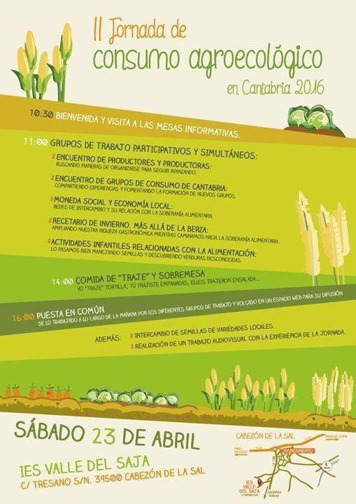 Jornadas de Consumo Agroecológico en Cantabria.