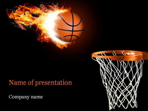 Basketball PowerPoint Template Templates Pinterest Template - basketball powerpoint template