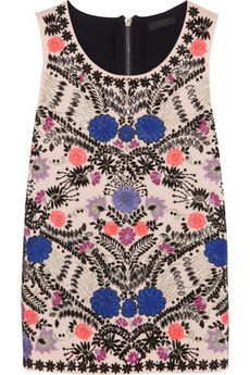 J.Crew Collection embellished merino wool top | NET-A-PORTER