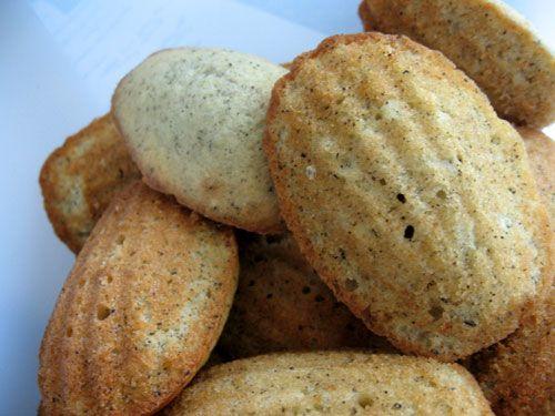 Honey Earl Grey Madeleines | Cookies | Pinterest | Teas, Honey and ...
