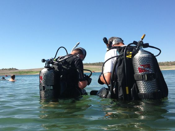 Lake Pleasant diving with Scuba Professionals of Arizona. Perfect to ...