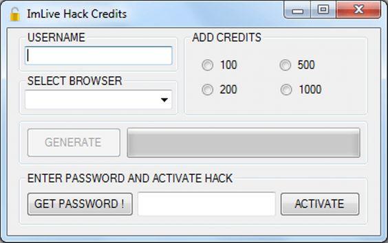 imlive credits generator