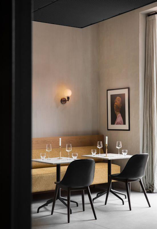 Menu The Lovely Harbour Column Dining Table Enjoy Menuspace Modernismreimagined Softminimalism Design Homedecor Inspir Dining Sofa Interior Furniture