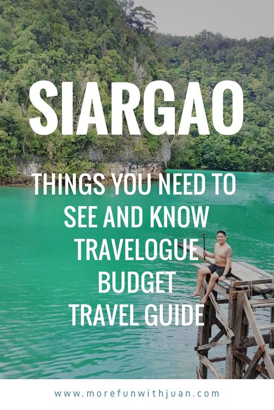 SIARGAO - Things You Need To See And Know | Travelogue | Budget Travel Guide | Itinerary 2018