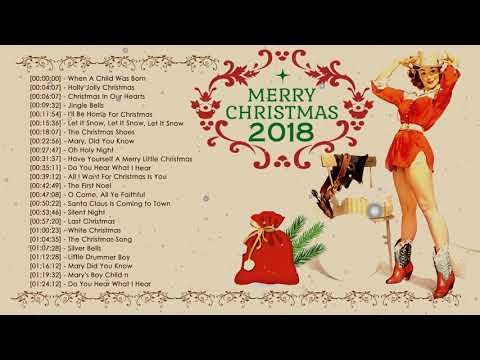 Top 100 Classic Country Christmas Songs Collection The Best Christmas Songs 2018 Nonstop Medley Youtu Best Christmas Songs Country Christmas Christmas Song