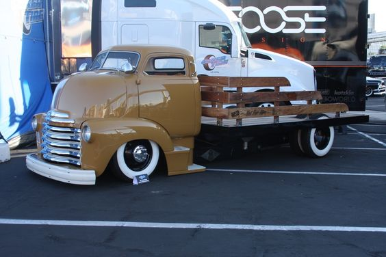 Lohnes's Two Favorite Cab Over Trucks From SEMA 2015 – One Ford and One Chevy