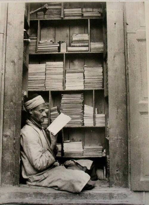 Old Egyptian bookstore
