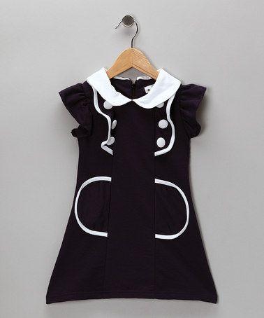 Navy Sailor Dress -