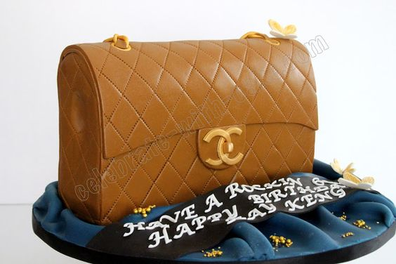 Celebrate with Cake!: Chanel Bag Cake