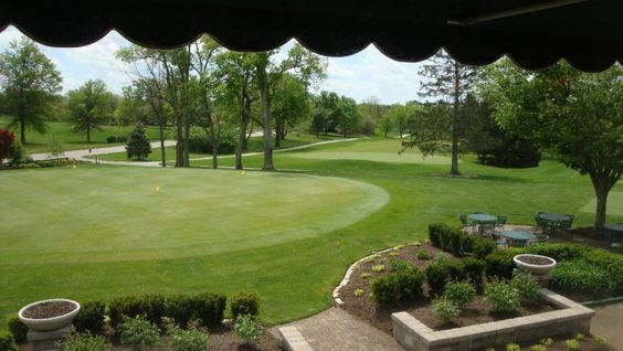 View from the dining room- Greenbrier Golf & Country Club, Lexington, KY