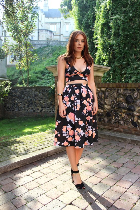 Missguided Floral Co Ord