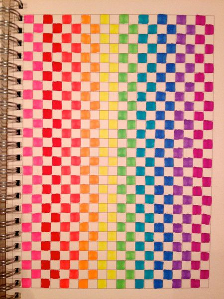 Easy graph paper art patterns pixel art patterns and for Simple designs on paper
