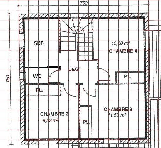 Calepinage Carrelage Sol Salle De Bain Mural Floor Plans