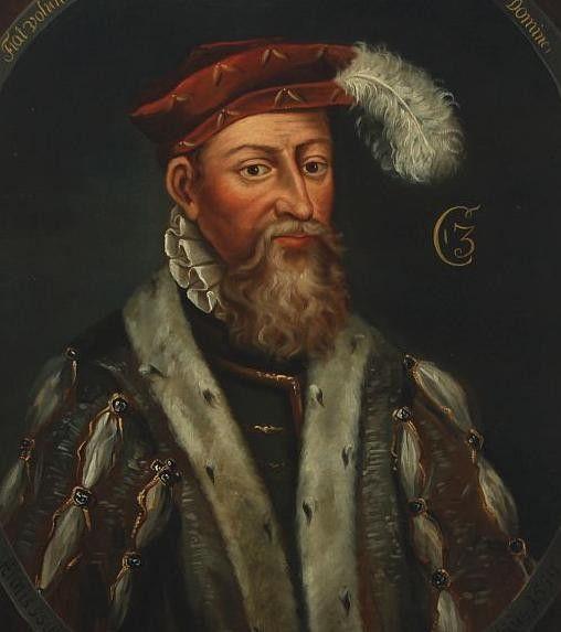 1534-59.King Christian III of Denmark.