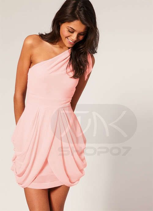 Pink Greek Dress