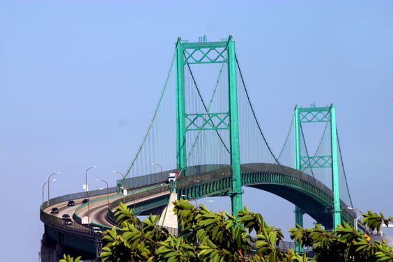The Vincent Thomas Bridge In Long Beach, CA (we Used To