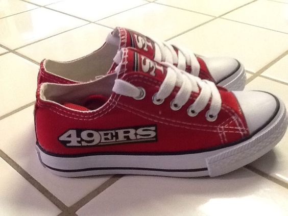 SAN FRANCISCO 49ers WOMANS Tennis Shoes