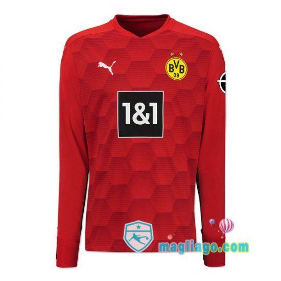 Maglia Dortmund BVB Uomo Portiere Rosso 2020/2021   Dortmund ...