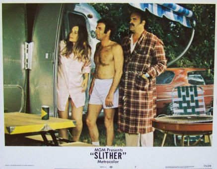 Slither Lobby Card #7, 1973, $12