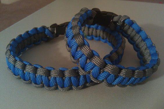 Paracord bracelets by bcmitchell18 on Etsy, $5.00