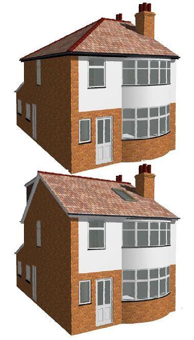 End Of Terrace Loft Extension Google Search Loftconversions Loft Conversion Hipped Roof Loft Conversion Plans Loft Conversion