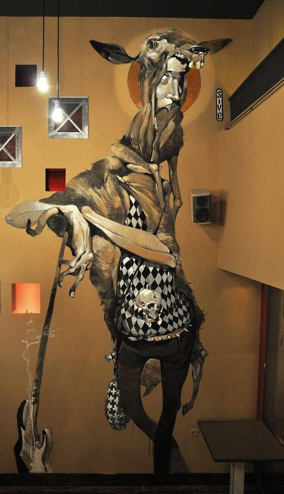 Conheça a arte de Stamatis Laskos