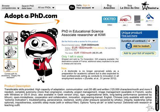 Adopt-a-PhD.com