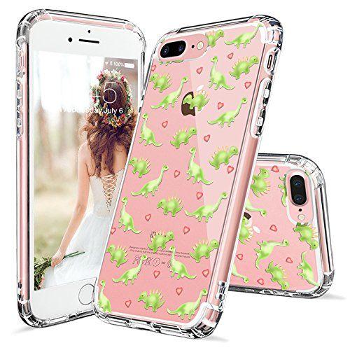 Iphone 7 Plus Case Iphone 8 Plus Case Cover Mosnovo Cute Dinosaur Pattern Clear Design Printed Plastic Hard Case Wit Iphone Iphone 7 Plus Iphone 7 Plus Cases