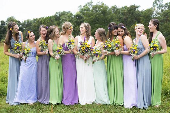 mariage colorée