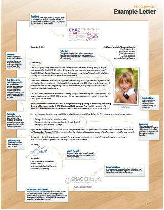 Auction Procurement Packet - Download free customizable templates - sample donation request form