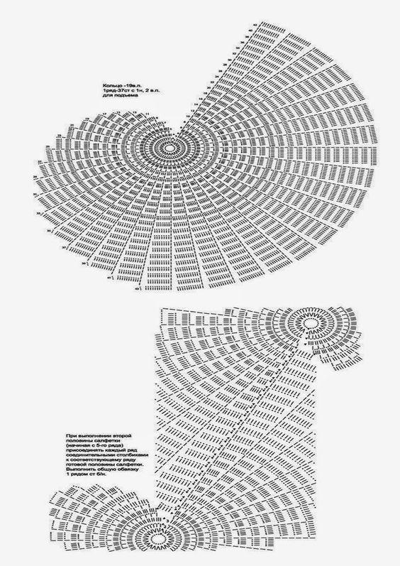 graficos de croche - Pesquisa Google
