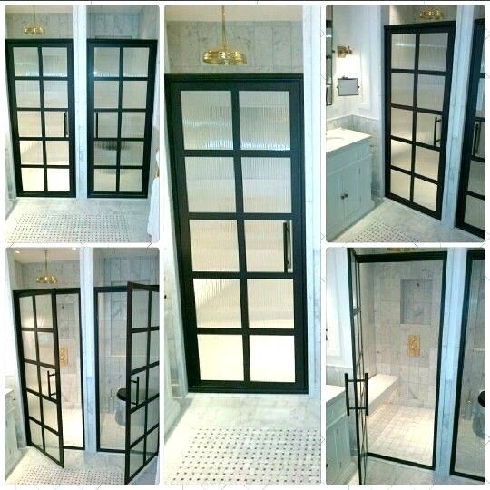 Modern Walk In Shower Design With Images Glass Block Shower