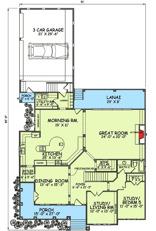 Surprisingly I Like This Country Style House Plans House Plans New House Plans