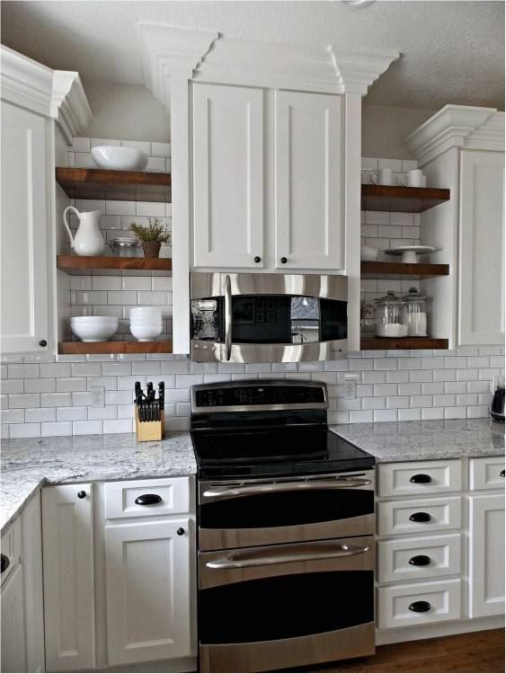 Kitchens Without Upper Cabinets Ideas Open Shelving Kitchen