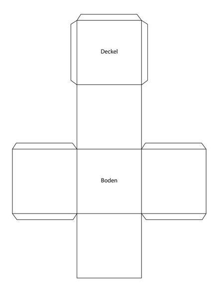 anleitung und vorlage f r herbstliche faltboxen. Black Bedroom Furniture Sets. Home Design Ideas