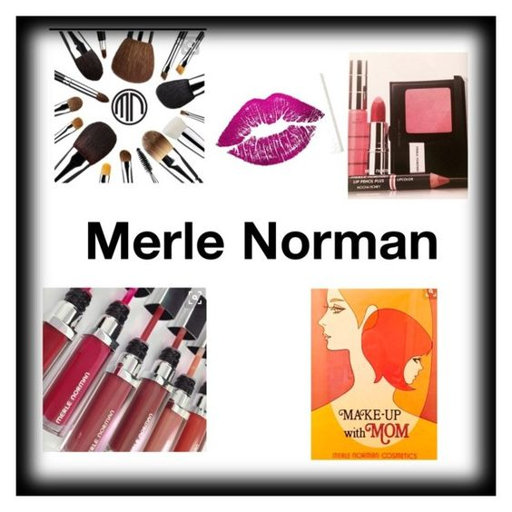 """""""Merle Norman"""" by heavenlycreations ❤ liked on Polyvore featuring beauty and Oliver Gal Artist Co."""