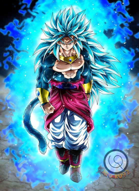 Goku Ssj5 Blue
