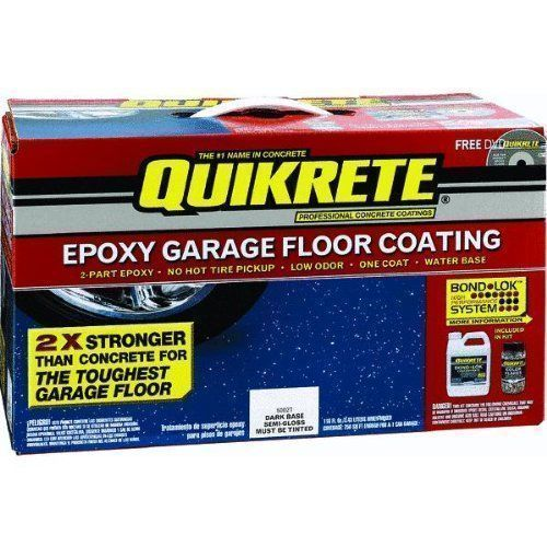 How To Apply Quikrete Epoxy Garage Floor Coating Leonie Chamois Apply In 2020 Epoxy Garage Floor Coating Garage Floor Coatings Garage Floor Epoxy