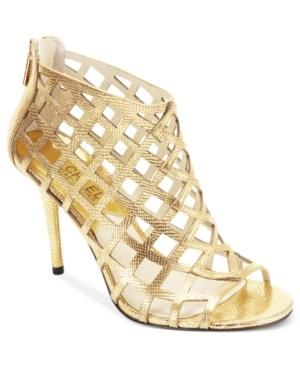 Micheal by Michael Kors gold heels