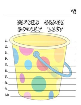 Here's a fun, easy, beginning of the year activity!  Have your students brainstorm a list of things they want to accomplish or do in 2nd grade, the...