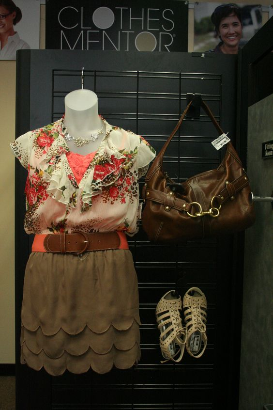 Adorable outfit created by the Clothes Mentor  Arlington fashionistas! This whole outfit only costs $31