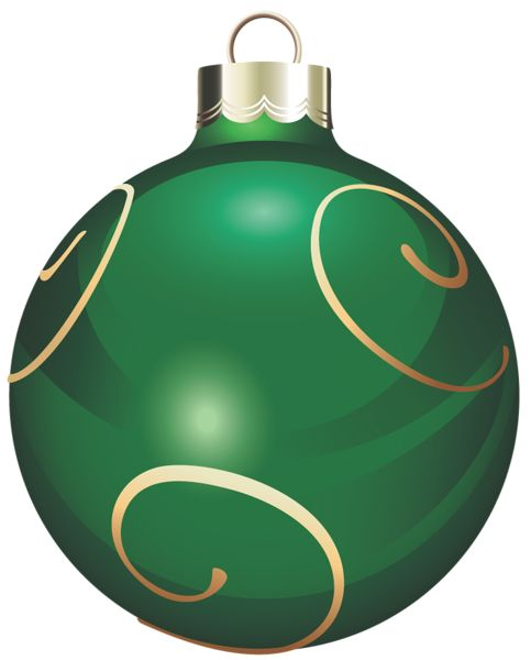 Clip Art Christmas Ornament Clip Art christmas silver and gold ornament clip art green art