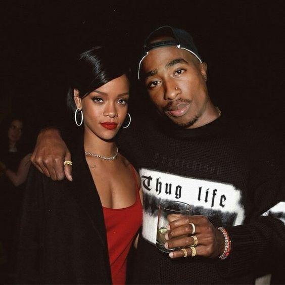 2pac & Rihanna photoshop | 2pac (Tupac Amaru Shakur ...