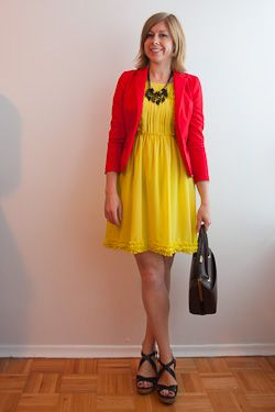 Shoes ith yellow dress at golden