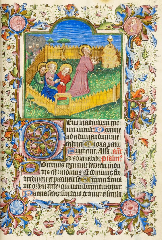 Christ: in Gethsemane | Psalter-Hours | Italy |  1482 | The Morgan Library & Museum