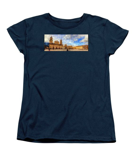 Women's T-Shirt (Standard Cut) - Cathedral, Bogota Colombia