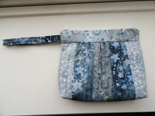 Quilted clutch by StickerChic87