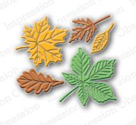 Sm. Leaf Set -  DIE095-D: