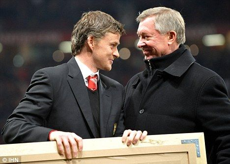 The relationship between Solskjaer and Ferguson dates back 15 years.
